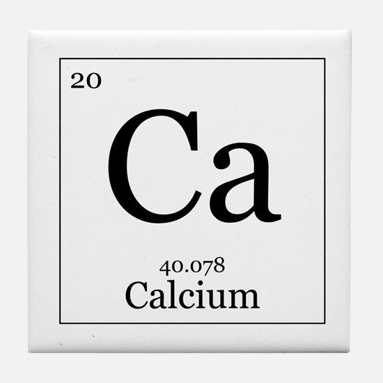 Elements - 20 Calcium Tile Coaster