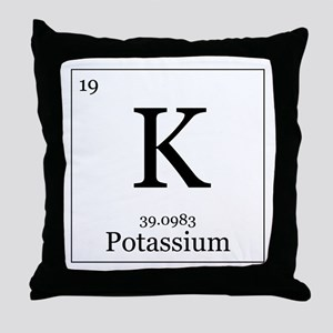Elements - 19 Potassium Throw Pillow