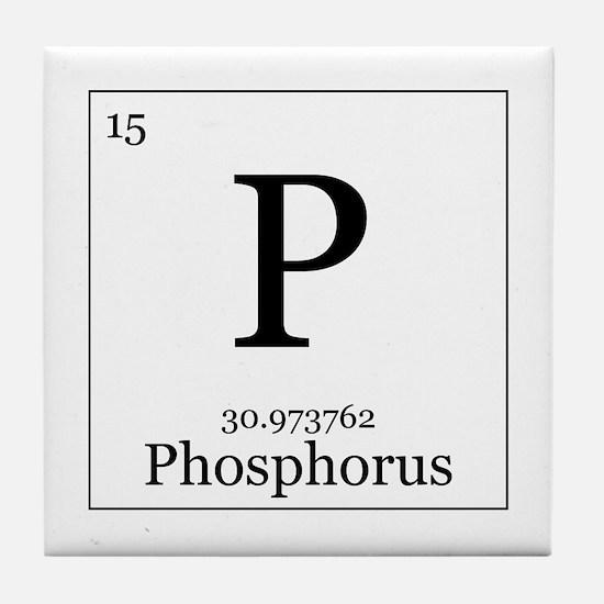 Elements - 15 Phosphorus Tile Coaster