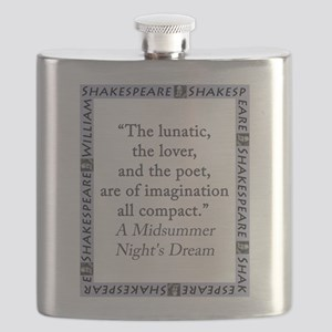 The Lunatic, The Lover and The Poet Flask