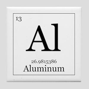 elements 13 aluminum tile coaster - Periodic Table Aluminum