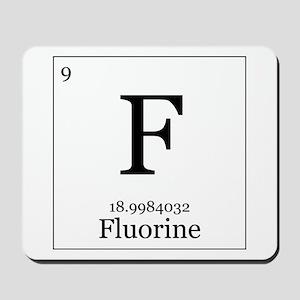 Elements - 9 Fluorine Mousepad
