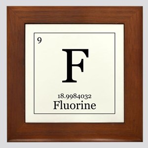 Elements - 9 Fluorine Framed Tile
