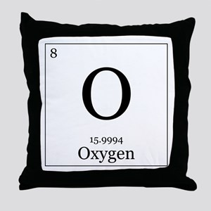 Elements - 8 Oxygen Throw Pillow