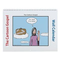 Cartoon Gospel Wall Calendar