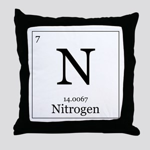 Elements - 7 Nitrogen Throw Pillow
