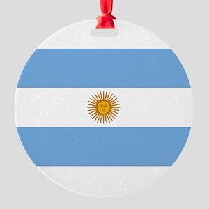Argentina Round Ornament