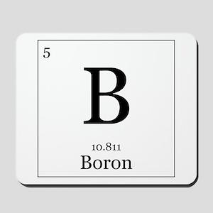Elements - 5 Boron Mousepad