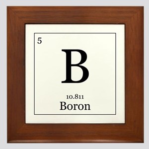 Elements - 5 Boron Framed Tile