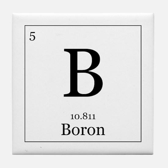 Elements - 5 Boron Tile Coaster