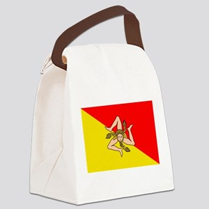 Sicily Canvas Lunch Bag