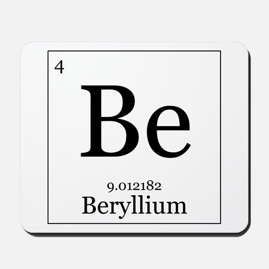 Elements - 4 Beryllium Mousepad
