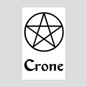 """Crone"" Rectangle Sticker"