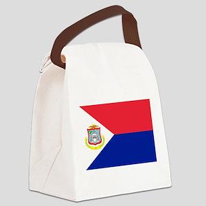 Sint Maarten Canvas Lunch Bag