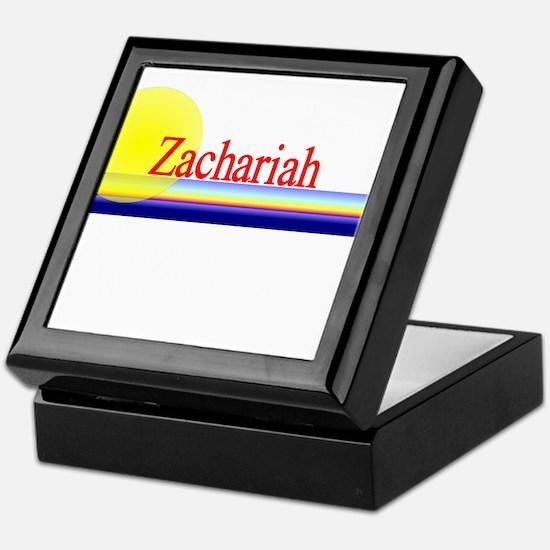Zachariah Keepsake Box