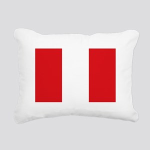 Peru Rectangular Canvas Pillow