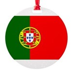 Portugal Round Ornament