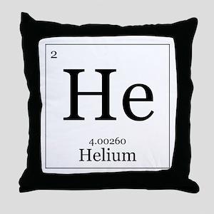 Elements - 2 Helium Throw Pillow
