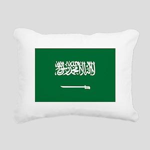 Saudi Arabia Rectangular Canvas Pillow