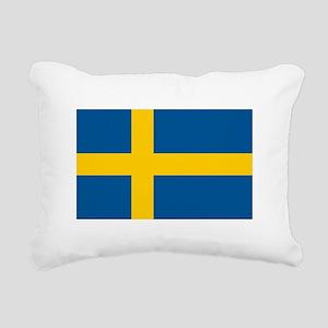 Sweden Rectangular Canvas Pillow