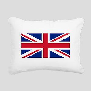 United Kingdom Rectangular Canvas Pillow