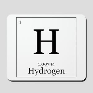 Elements - 1 Hydrogen Mousepad