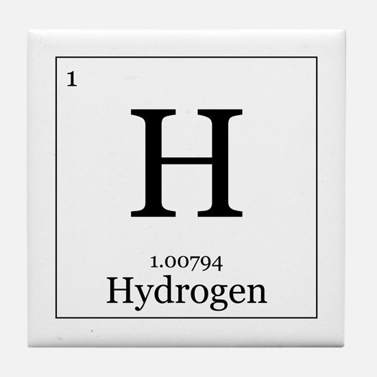 Elements - 1 Hydrogen Tile Coaster