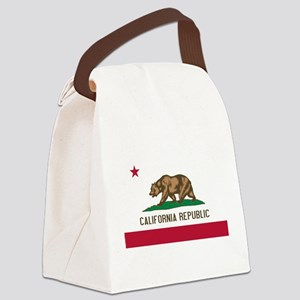 California Canvas Lunch Bag