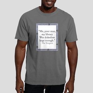 Me, Poor Man, My Library Mens Comfort Colors Shirt