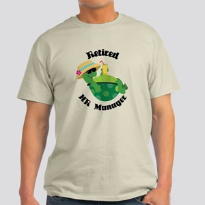 Retired HR Manager Gift Light T-Shirt
