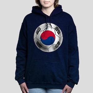 Korea Football Women's Hooded Sweatshirt