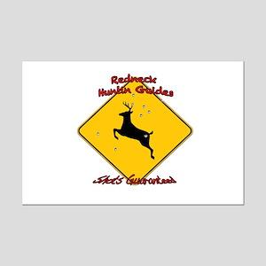 Redneck huntin guides Mini Poster Print