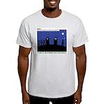 Restroom Role Reversal Light T-Shirt