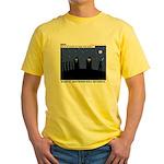 Restroom Role Reversal Yellow T-Shirt
