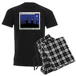 Restroom Role Reversal Men's Dark Pajamas
