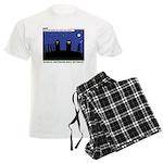 Restroom Role Reversal Men's Light Pajamas
