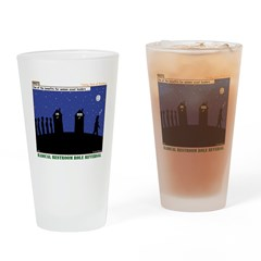 Restroom Role Reversal Drinking Glass