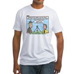 Weather Rock Fitted T-Shirt