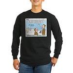 Salesmanship Long Sleeve Dark T-Shirt