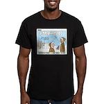Salesmanship Men's Fitted T-Shirt (dark)