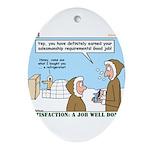 Salesmanship Ornament (Oval)