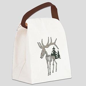 Elk bones Canvas Lunch Bag