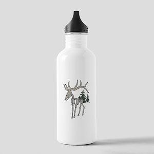 Elk bones Stainless Water Bottle 1.0L