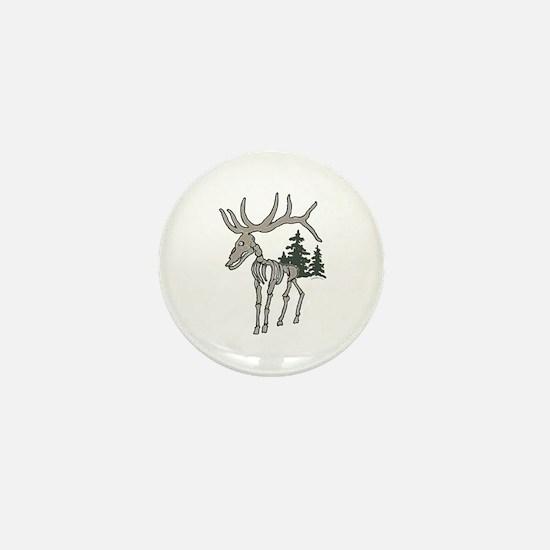 Elk bones Mini Button
