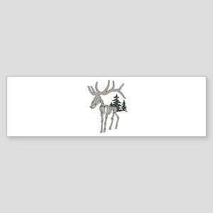 Elk bones Sticker (Bumper)