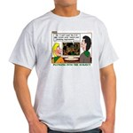 Plumbing Screensaver Light T-Shirt