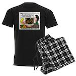 Plumbing Screensaver Men's Dark Pajamas