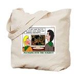 Plumbing Screensaver Tote Bag