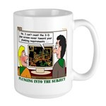 Plumbing Screensaver Large Mug