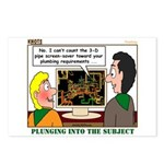 Plumbing Screensaver Postcards (Package of 8)